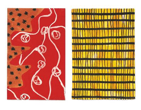 Fähnchen und Netze# 87, 2001